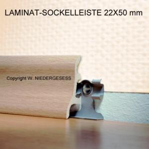 laminat profi clip sockelleisten 50 mm hoch ahorn dekor ebay. Black Bedroom Furniture Sets. Home Design Ideas